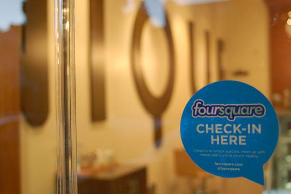Budding Foursquare Feature Helps Build Customer Base