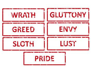 The Seven Deadly Sins Go to Work...and Employees Suffer