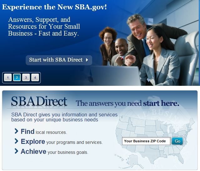 SBA Website Gets Makeover