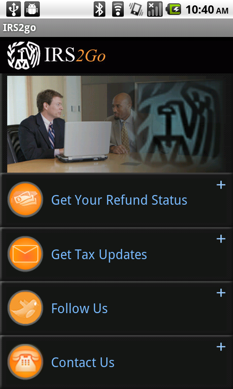 Mobile App Lets Taxpayers Check Their Refund Status