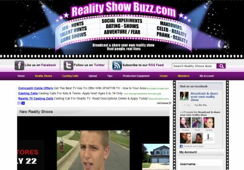 Want to Be on a Reality Show? Start Here