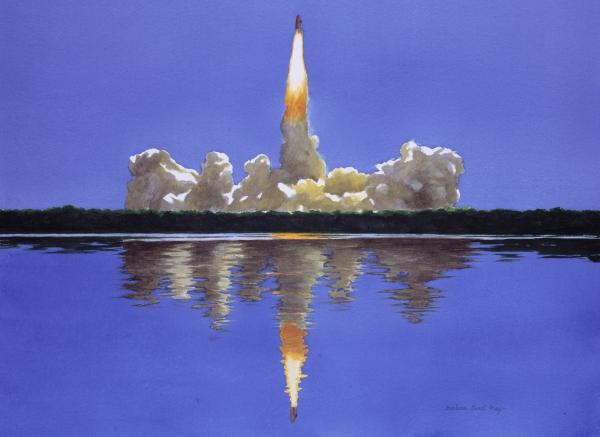 Art in Space: NASA Exhibit Launches Artist Into Ranks of Icons