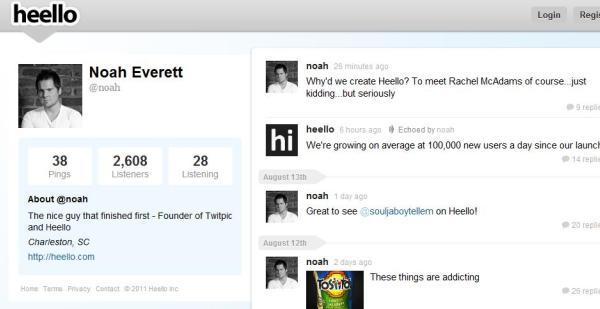 Say Hello to Twitter's New Competitor: Heello