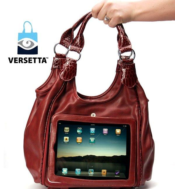Bright Ideas: New Purse Doubles as iPad Case