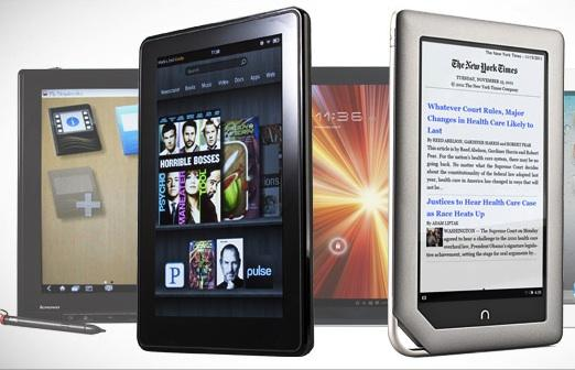 Tablets, Kindle Fire Top Shoppers' Holiday Lists