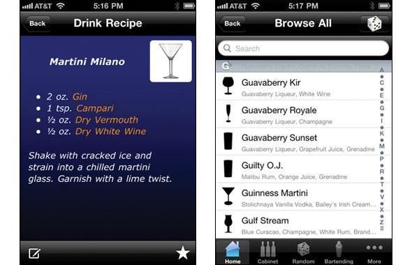 Mixologist Drink Recipes (Free)