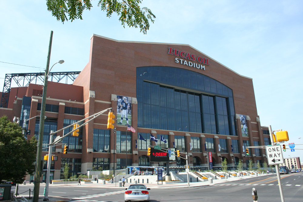 A $122 Million Super Bowl Bet: Lucas Oil Stadium
