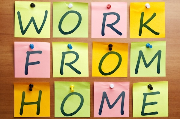 Work from home problems mobile workers for Work from home pictures