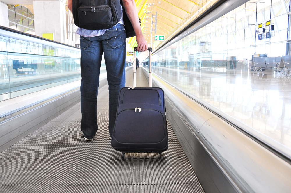 Why buy good luggage? You only use it when you travel.