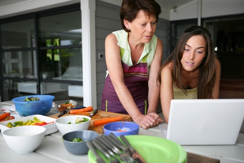 Step Aside, Mom, Social Media's Taking Your Place in the Kitchen