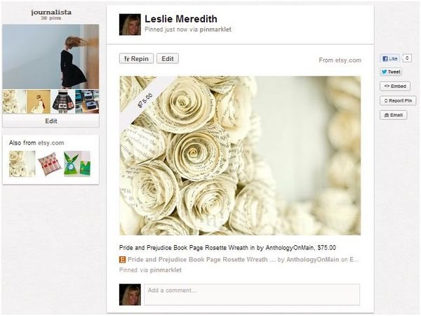 Pinterest Makes It Easier to Buy What You See