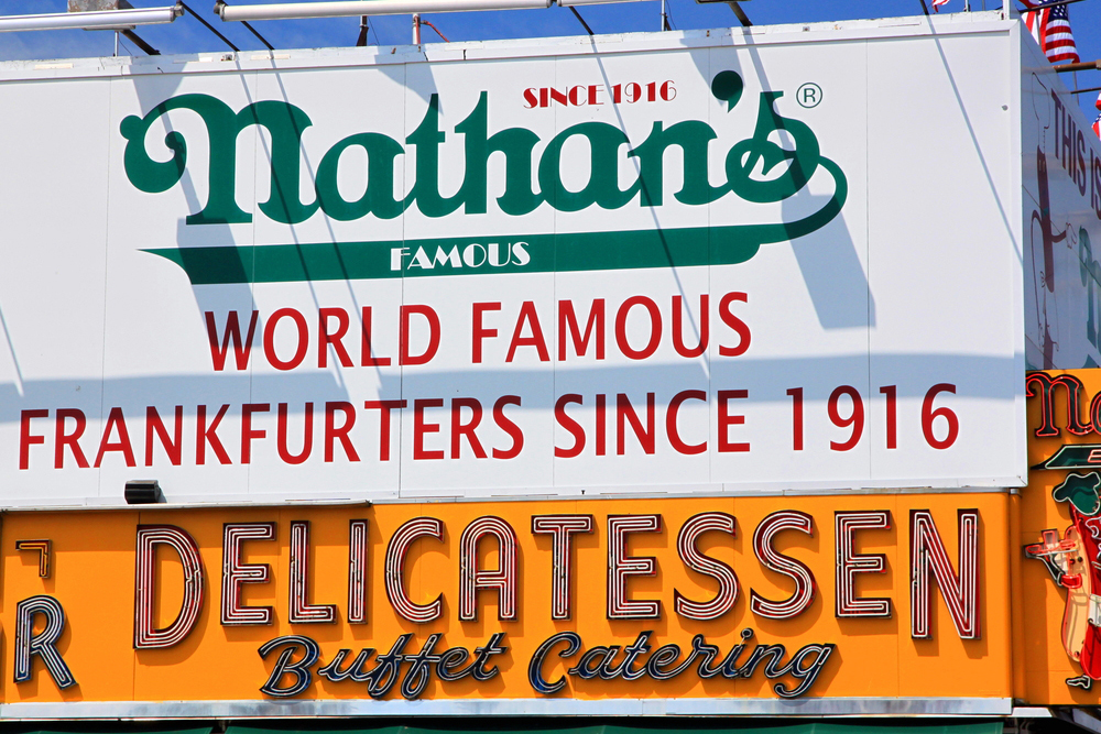 It's the birthplace of Nathan's