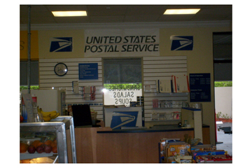 US Post office and Cafe