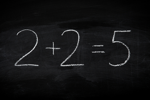 Credit math on chalkboard image via shutterstock
