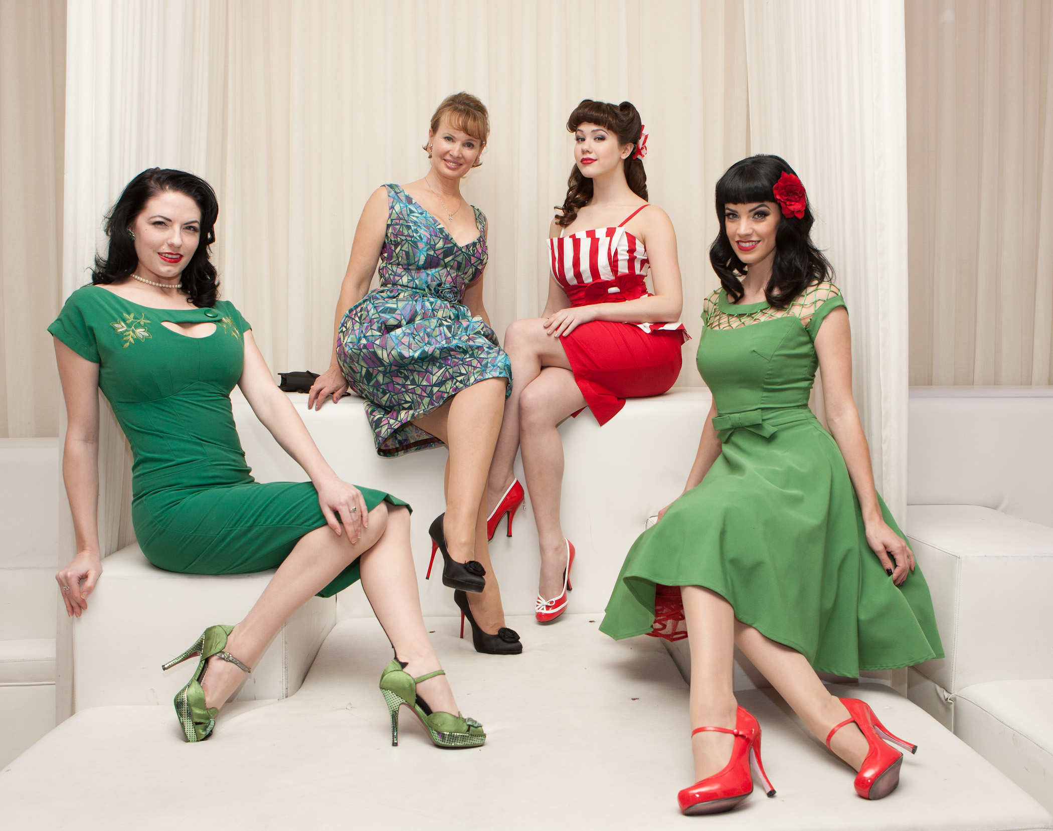 Bettie Page-Inspired Fashion Designer Goes Public