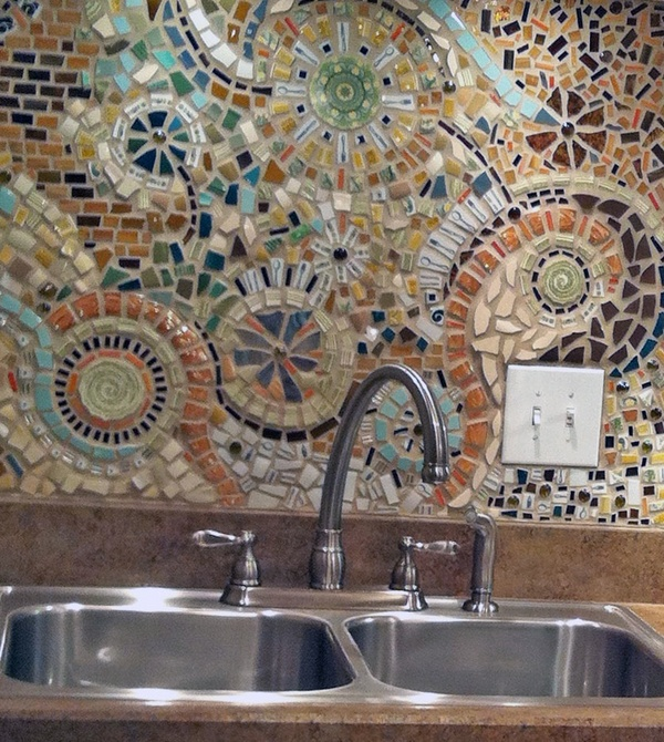 ginger araujo 39 s mosaic tile backsplash