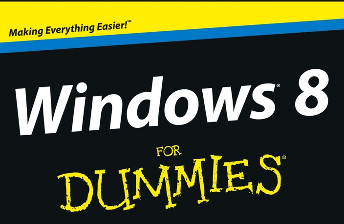 Windows 8 for Dummies. That's All of Us