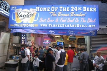 A bar at Yankee Stadium? – Bronx, N.Y.