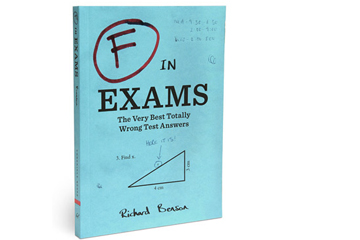 'F in Exams' book