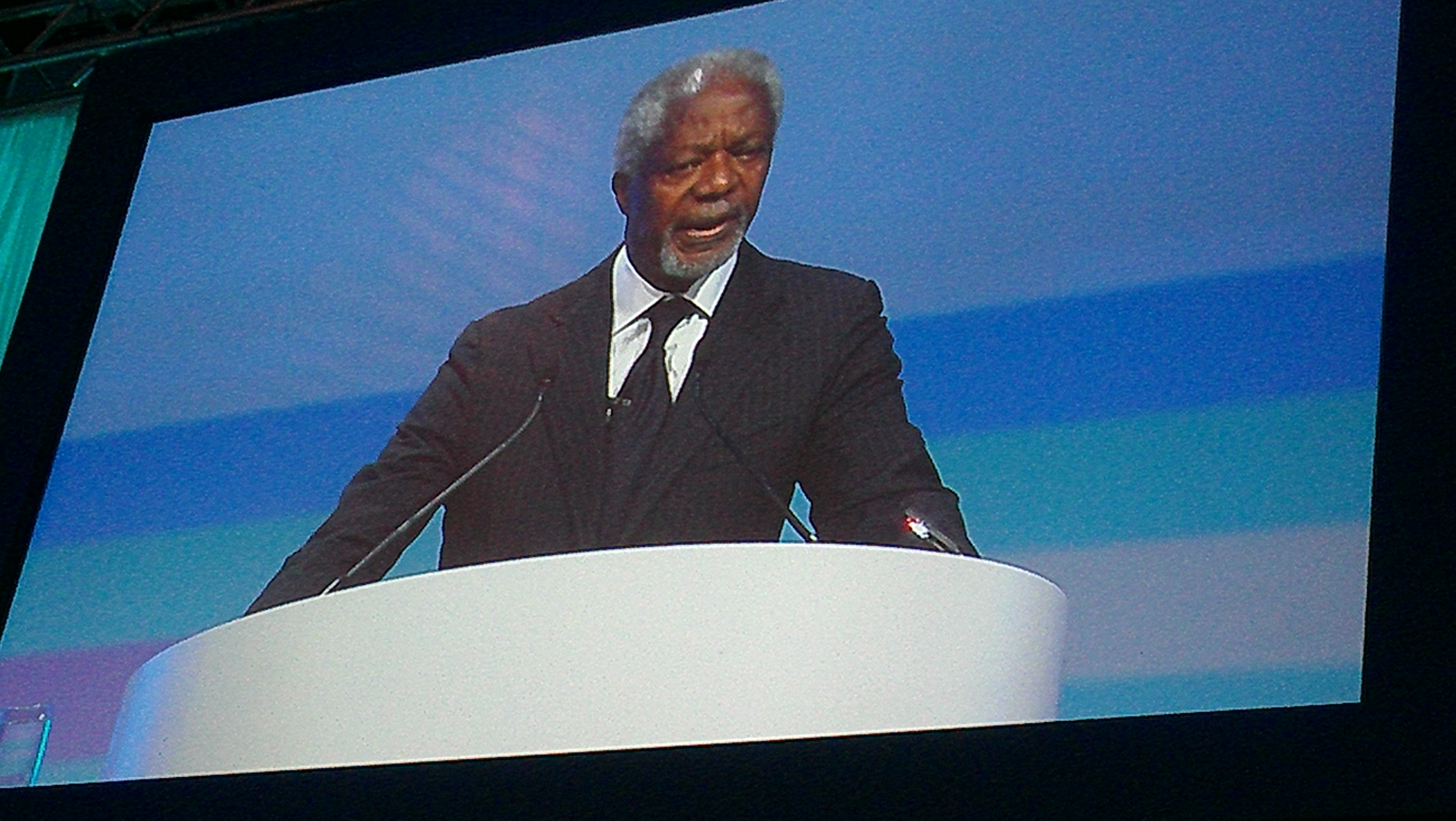 Kofi Annan Names the 3 Things Economies Need