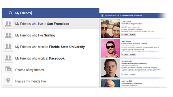Facebook Graph Search Makes Your Secrets Easier to Find