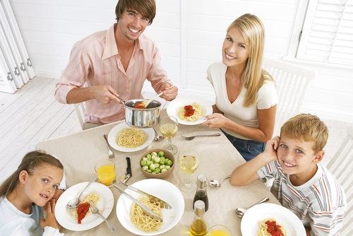 Family Mealtime Not a Thing of the Past