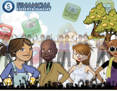 Financial Video Games Get Corporate Branding