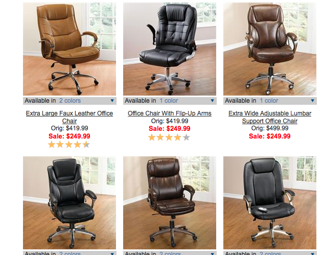 Plus-Size Office Chairs Gain in Popularity