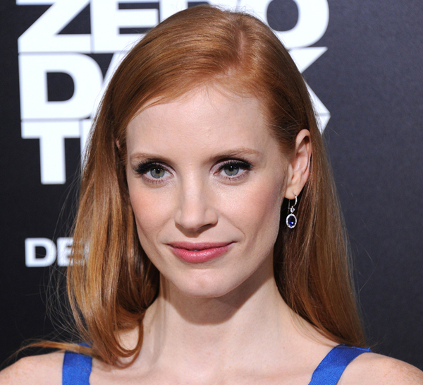 "Jessica Chastain — Actress in a Leading Role (""Zero Dark Thirty"")"