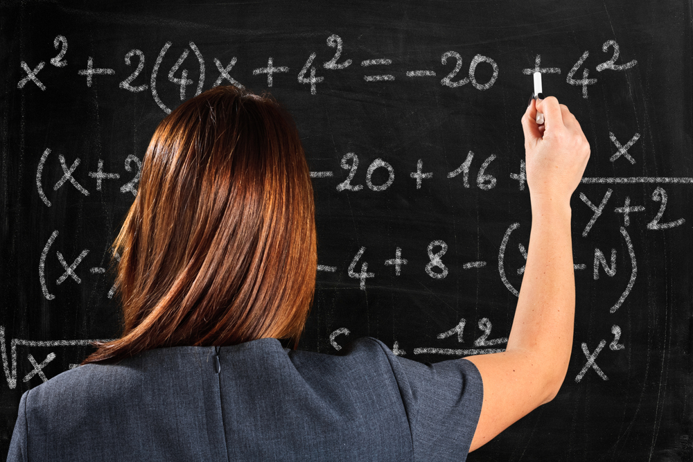 Math Careers Just Don't Add Up For Women