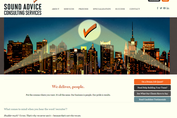 Consulting — Sound Advice Consulting Services