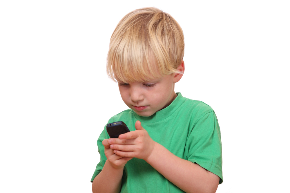 Smartphones Are the New Toddler 'Toy'
