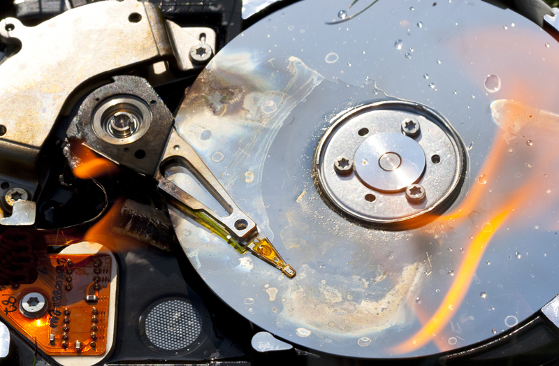 what to do when the hard drive fails