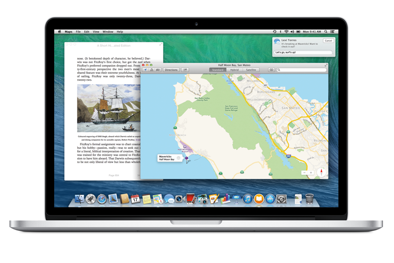 4 New Ways LinkedIn Works with OS X Mavericks