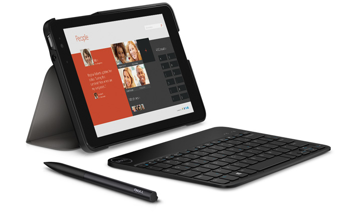 Dell Venue 8 Pro vs. iPad Mini with Retina Display: 8-Inch Tablets for Business