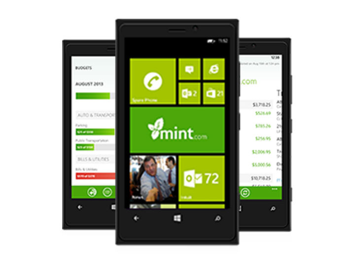 Finance App Mint Launches on Windows Phone