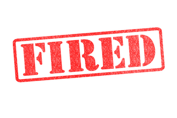 fired, firing, losing job