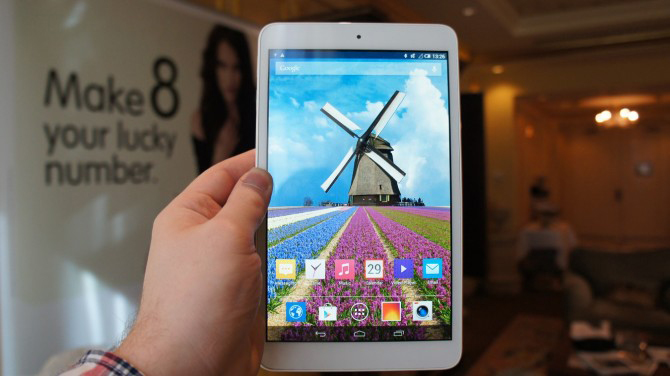 Alcatel One Touch Pop 7 and 8: More Affordable LTE Tablets for Business