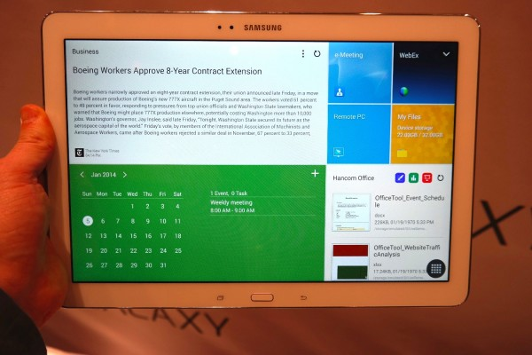Samsung Galaxy Tab Pro 12.2: Top 3 Business Features