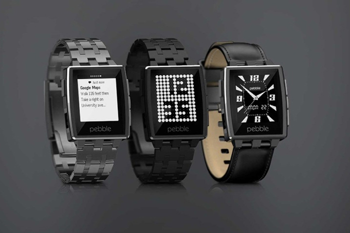 Pebble Steel (iPhone, Android and Windows Phone)
