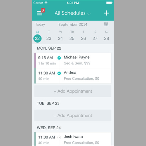 Appointment Scheduler: SetMore Appointments (Free)