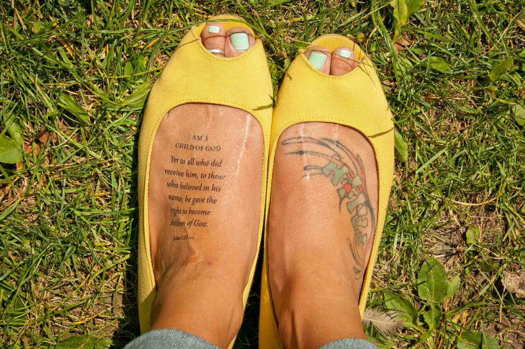 Christian Temporary Tattoos Designed With Spiritual Skin In Mind