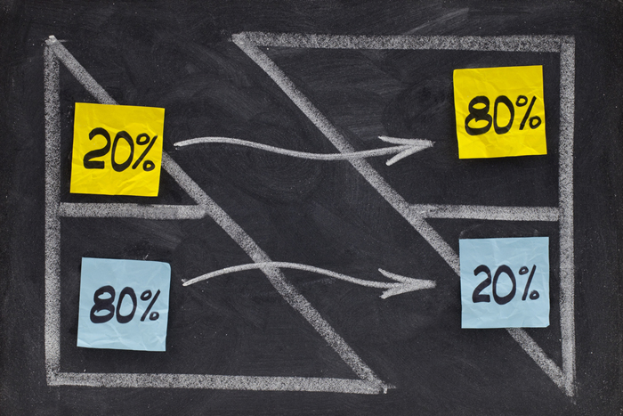 the rule of 80/20 business plan