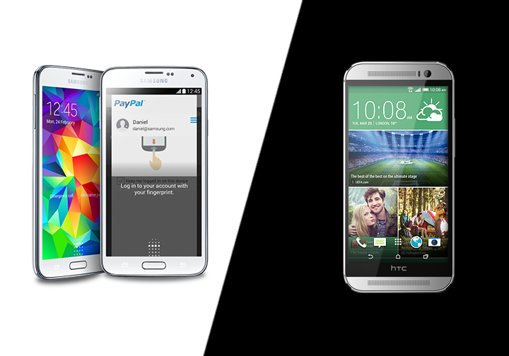 Samsung Galaxy S5 vs. HTC One M8: Which Is Better For Business?