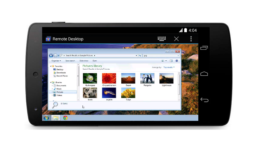 Chrome Remote Desktop for Android: An Easier Way to Access to Your PC
