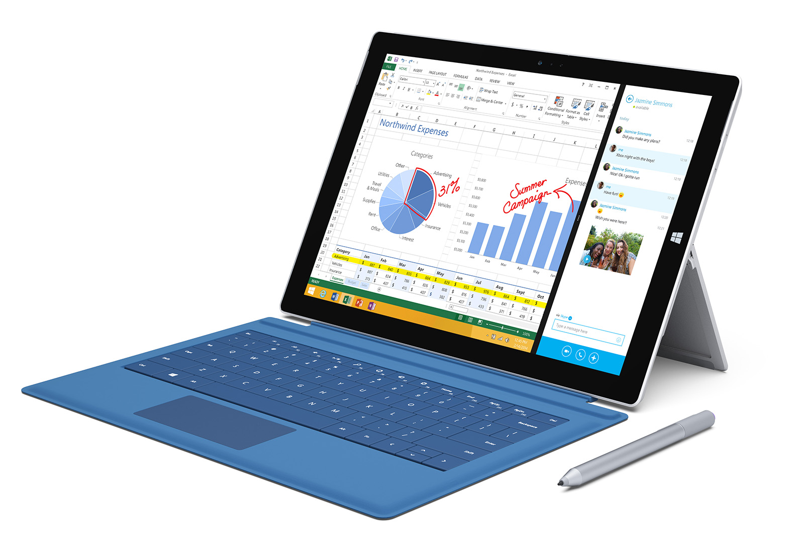 Surface Pro 3 Type Cover: A Better Tablet Keyboard?