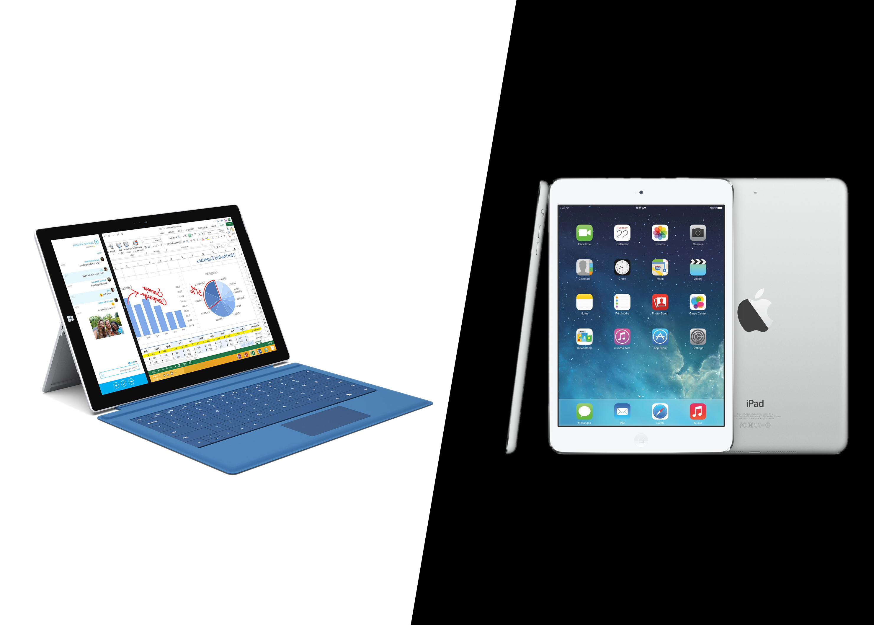 Surface Pro 3 vs. iPad Air: Which is Better for Business?