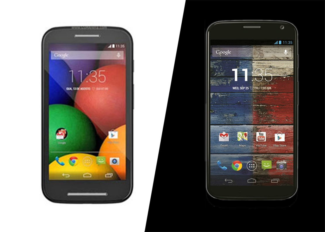 Moto E vs. Moto X: Which Is Better for Business?