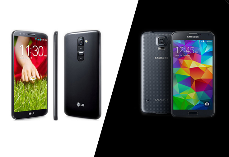 LG G3 vs. Samsung Galaxy S5: Which is Better for Business?