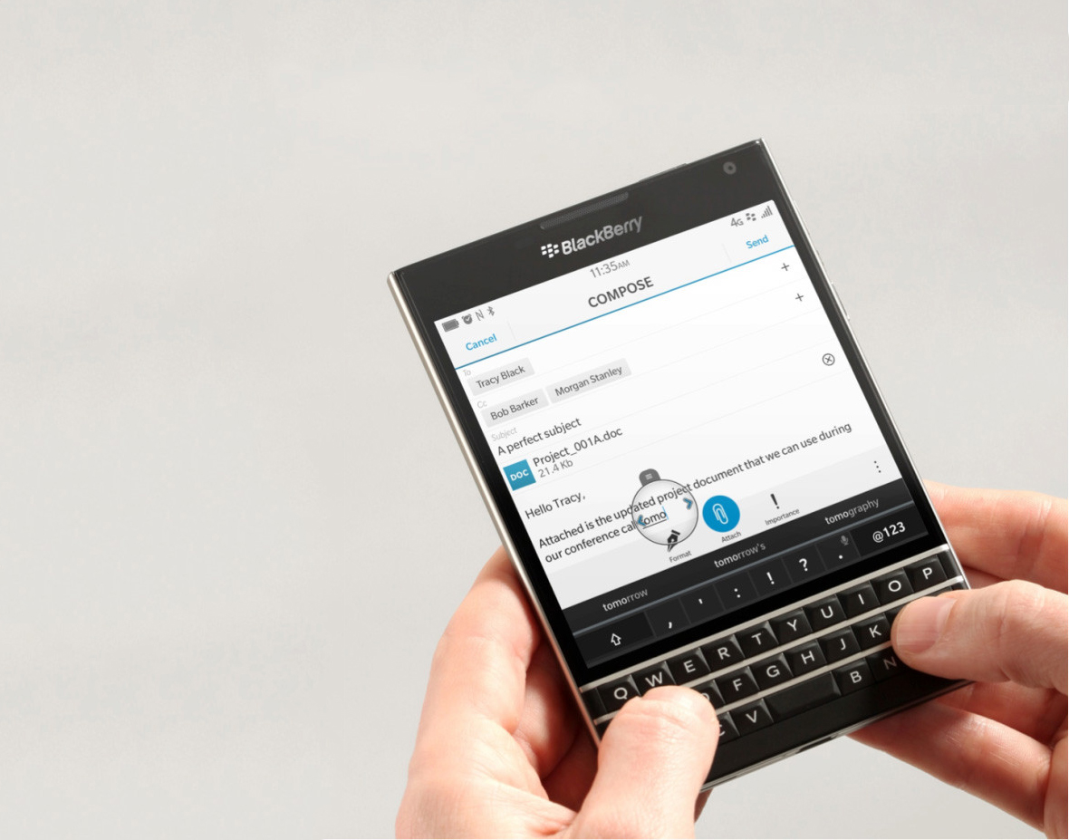 BlackBerry Assistant: Top 3 Business Features